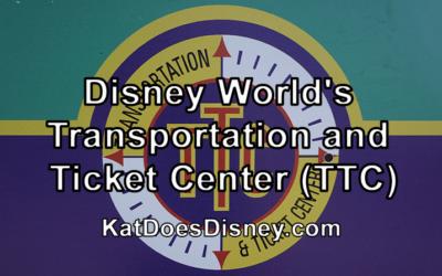 Disney World's Transportation and Ticket Center (TTC)