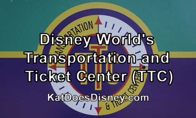 Disney World's Transportation and Ticket Center (TTC)