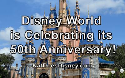 Disney World is Celebrating its 50th Anniversary!